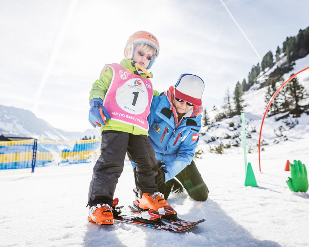 Skiing lessons in Obertauern