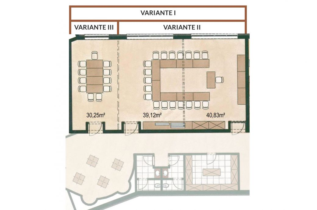 Seminar room layouts